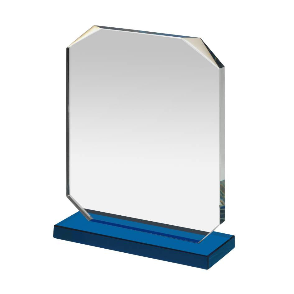 NTC004 Glass Award - Bracknell Engraving & Trophy Services