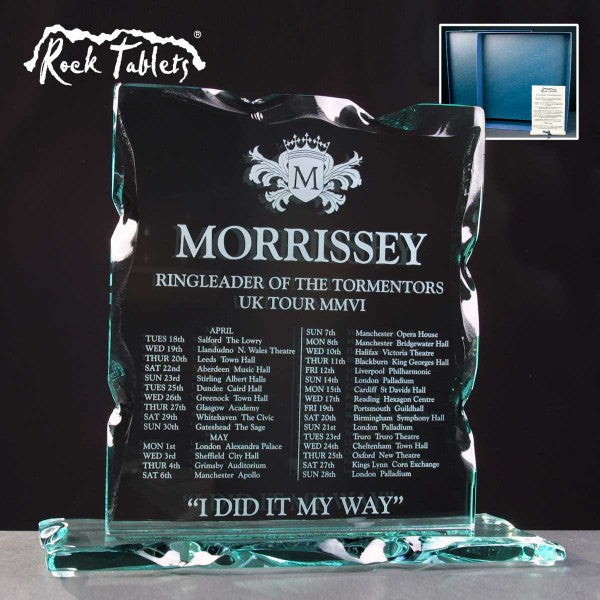 Portrait Rock Tablet - Bracknell Engraving & Trophy Services