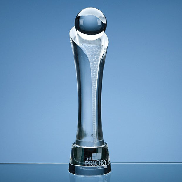 Optical Crystal Eclipse Award - Bracknell Engraving & Trophy Services