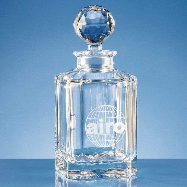 Crystal Square Decanter