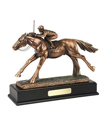 Jockey and Rider - Bracknell Engraving & Trophy Services