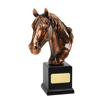 Large Horse Head - Bracknell Engraving & Trophy Services