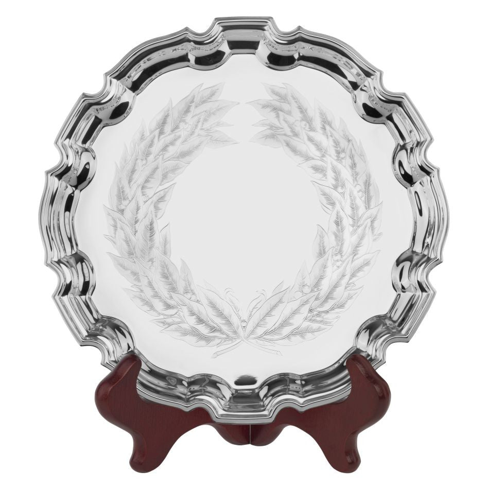 Laurel Wreath Tray - Bracknell Engraving & Trophy Services