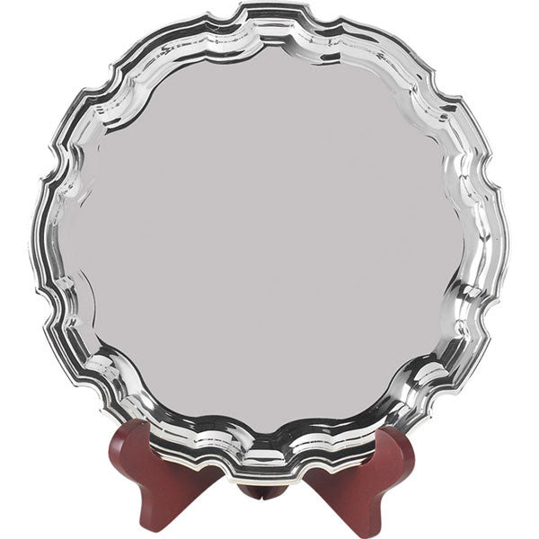 S3 Round Chippendale Tray - Bracknell Engraving & Trophy Services