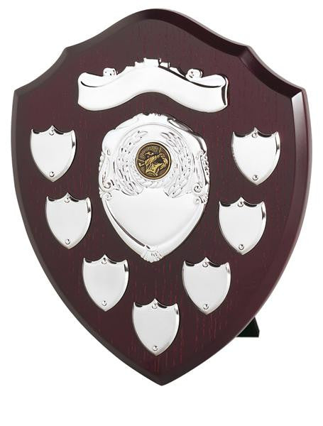 SV Silver Annual Record Shield - Bracknell Engraving & Trophy Services