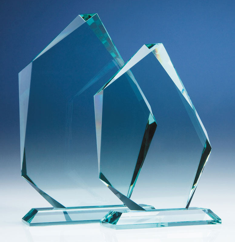 Jade Ice Peak Award - 19mm thick - Bracknell Engraving & Trophy Services