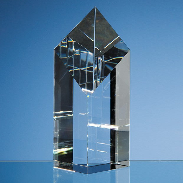 Optical Crystal Diamond Award - Bracknell Engraving & Trophy Services
