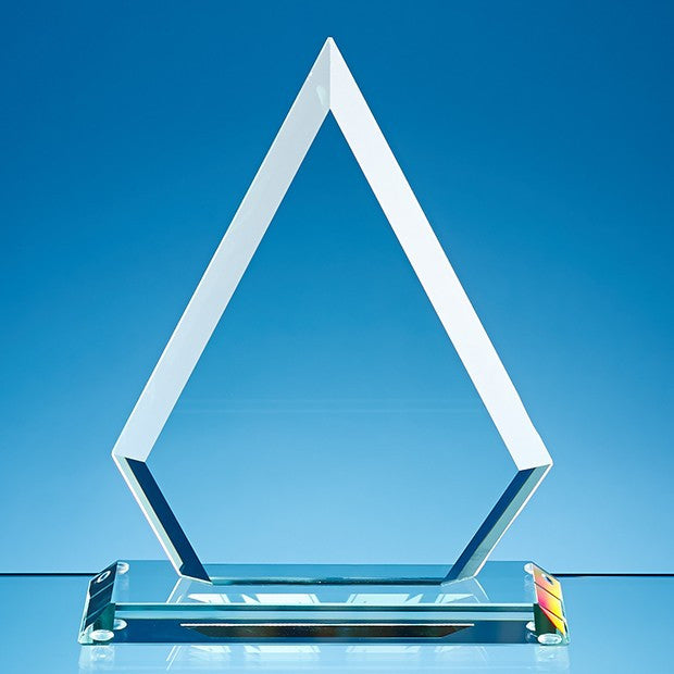 Jade Glass Facet Diamond Award