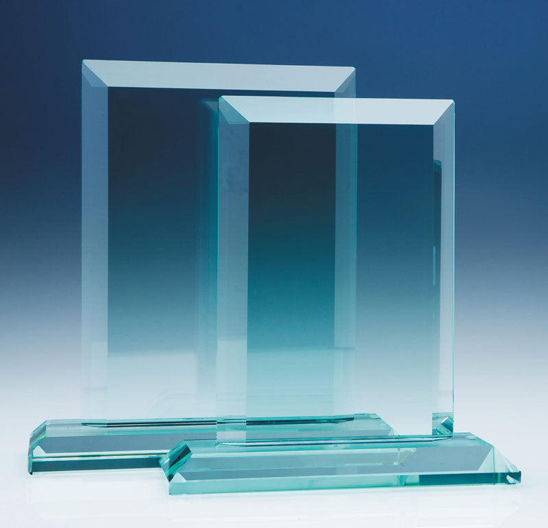 Jade Mitred Rectangle Award - Bracknell Engraving & Trophy Services