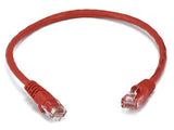 CAT 6 500MHz UTP 1FT Cable - Red