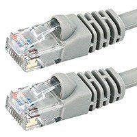 20FT Cat5e 350MHz UTP Ethernet Network Cable - Gray [Electronics]