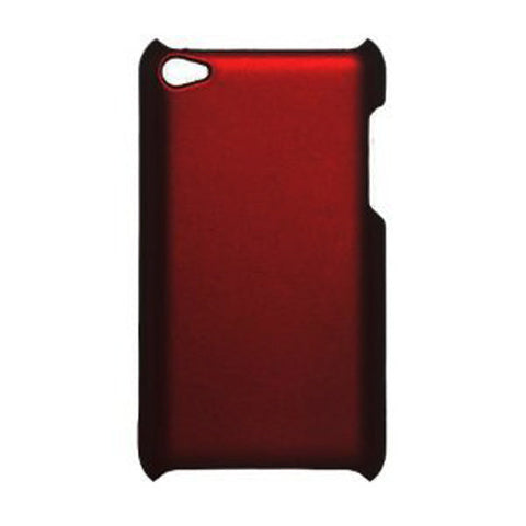 Skque Apple iPod Touch 4nd Generation Series case cover-red Rubberized hard case