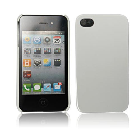 Skque White Bright Polycarbonate Case Of Apple Iphone 4S [Electronics]