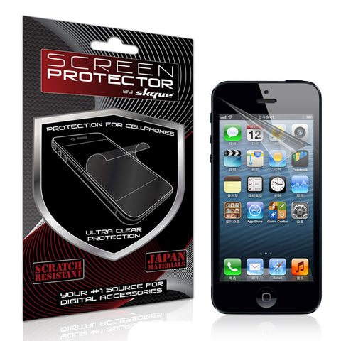 iPhone 5 Screen protector,Skque® Anti Glare Screen Protector for Apple iPhone 5