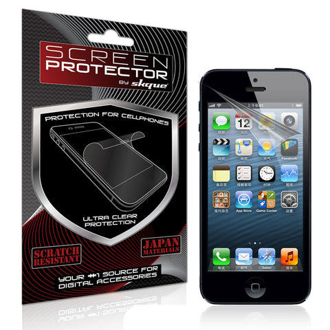 iPhone 5 Screen protector,Skque® Anti Scratch Screen Protector for Apple iPhone 5