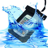 Skque Water Proof Pouch Case Bag for Apple iPhone 3, 3GS, 4, 4S, Black [PC]