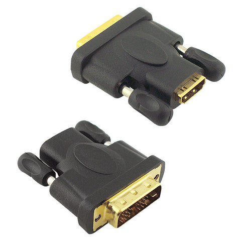 Skque HDMI Female to DVI Male ADAPTER for HDTV Projector Monitor