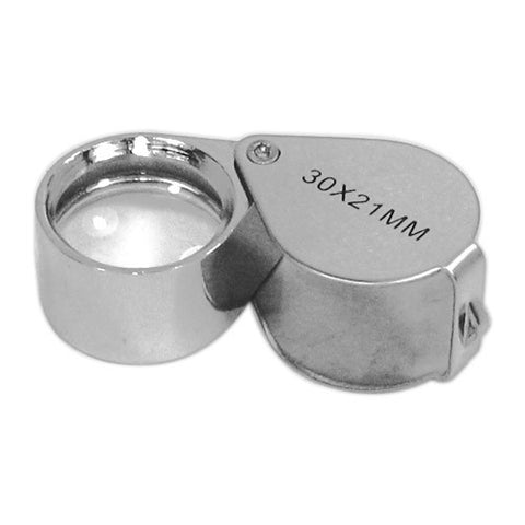 Skque 30x 21mm Jewelers Eye Loupe Magnifier Magnifying Glass