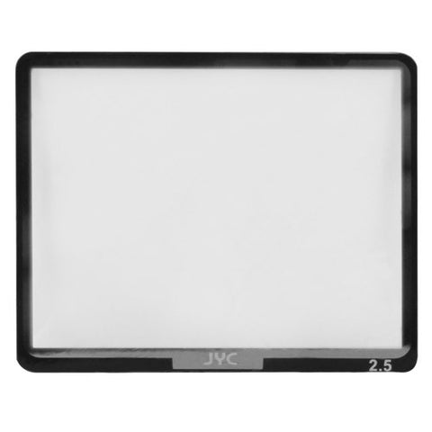 Skque Universal 2.5inch Ultra Clear Optical Glass LCD Screen Protector Cover for Digital Camera