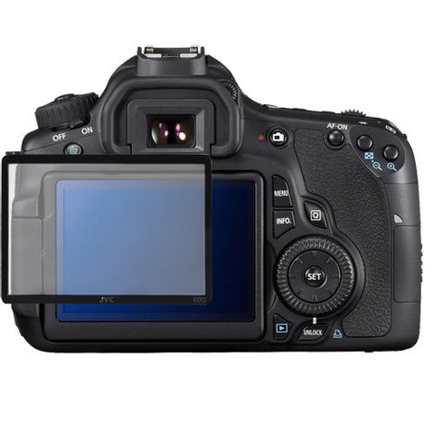 Skque Universal Ultra Clear Optical Glass LCD Screen Protector Cover for Canon 60D