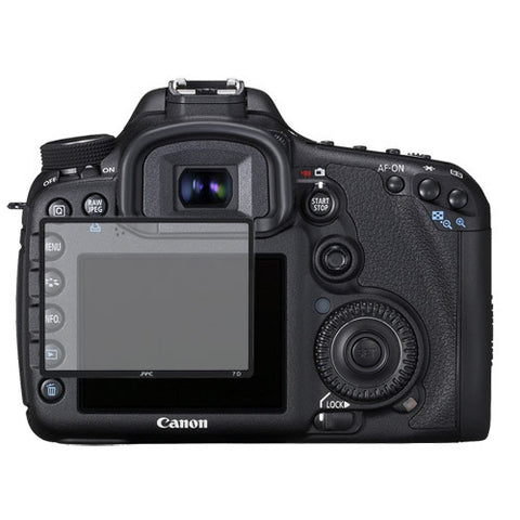 Skque Universal Ultra Clear Optical Glass LCD Screen Protector Cover for Canon 7D