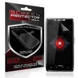 Skque Premium Clear Screen Protector For Motorola Droid RAZR [Electronics]