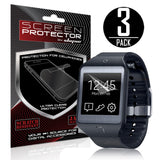 Skque® 3 Pcs Anti Scratch Crystal Clear Screen Protector for Samsung Galaxy Gear 2 Neo