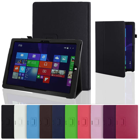 Skque PU Leather Flip Stand Case Cover for Microsoft Surface Pro 3