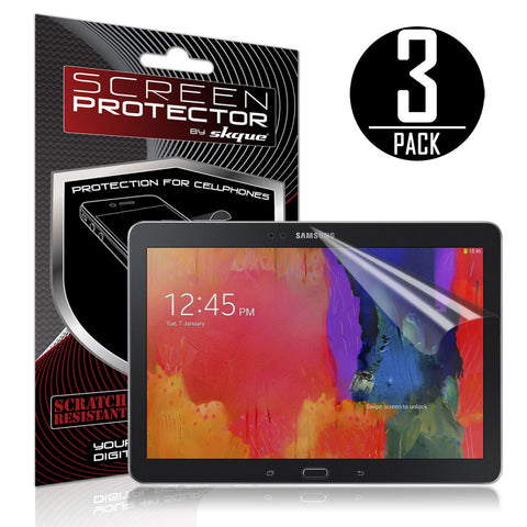 Skque® 3 Pcs Anti-Glare Screen Protector for Samsung Galaxy Tab Pro 10.1