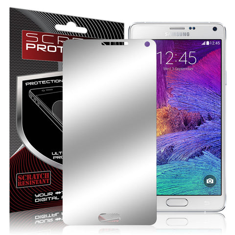 Galaxy Note 4 Screen Protector, Skque® Mirror Finish Screen Protector for Samsung Galaxy Note 4, 1 Pack