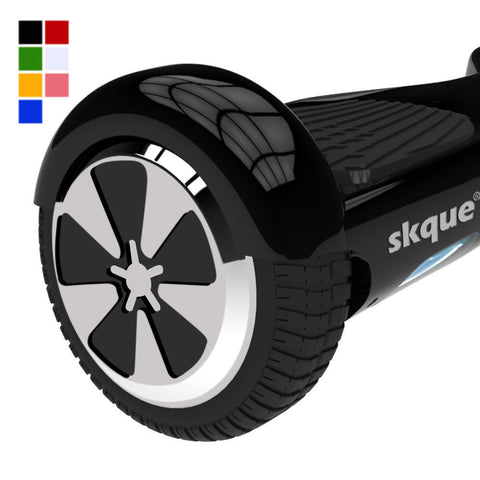"Skque® 6.5"" Original 2 Wheel Smart Self Balance Electric Scooter with LED Light"