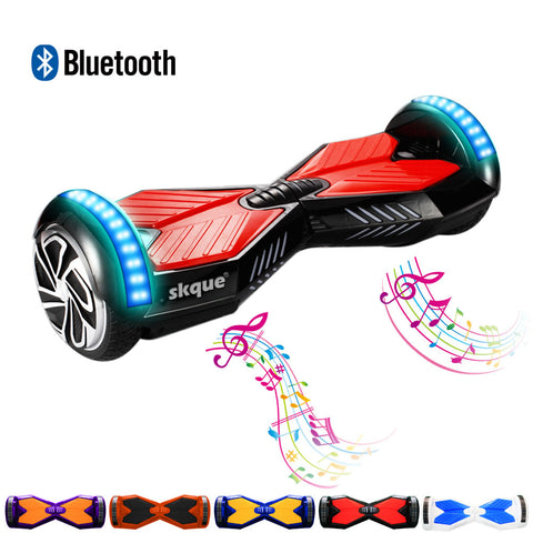 Skque® 6.5 Hoverboard Two Wheel Smart Self Balancing Scooter Electric w/ Speaker