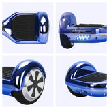 "Skque® 6"" Hoverboard with Bluetooth Speaker and LED - I1.2 (The Original) - (UL2272 Certified)"