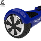 "Skque® UL2272  6.5"" Two Wheel Smart Self Balancing Electric Scooter with LED Lights"