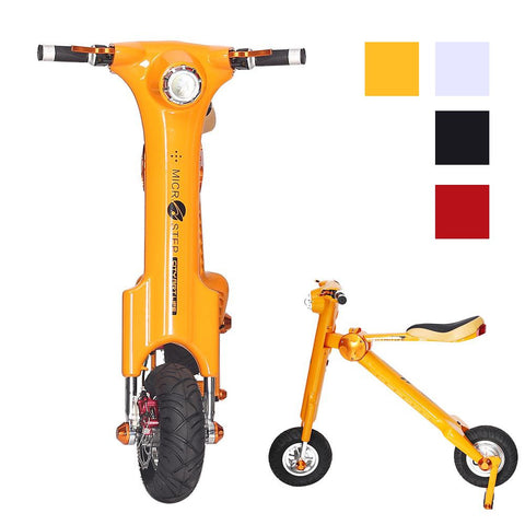 Foldable Electric Bike Scooter, Skque® 2016 Newest Model K Series Foldable Electric Bike Scooter
