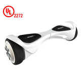 "Skque® 6.5"" X1 UL2272 Two Wheel Smart Self Balancing Electric Scooter with LED Lights, White"