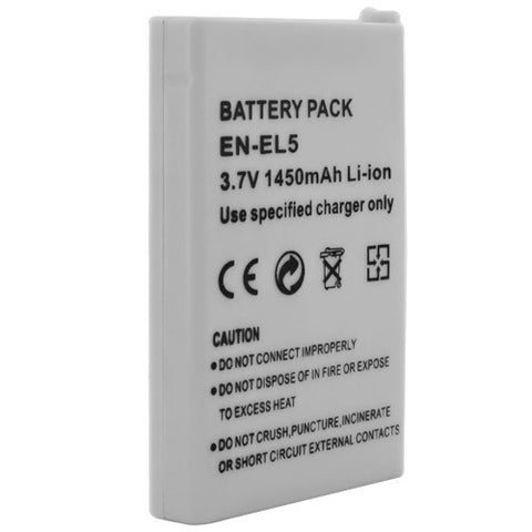 Skque Battery for Nikon ENEL5 Camera Series