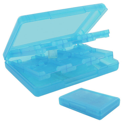 Skque 28 in 1 Game Card Holder Case for Nintendo DSi, DS Lite, 3DS, Aqua