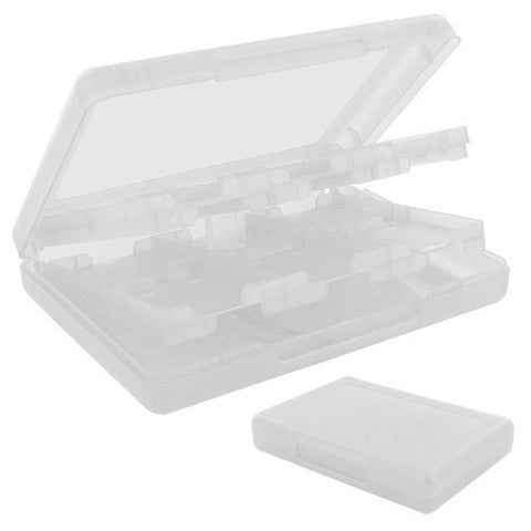 Skque 28 in 1 Game Card Holder Case for Nintendo DSi, DS Lite, 3DS, Clear