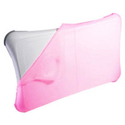 iShoppingdeals - for Nintendo Wii Fit Balance Board (Pink) Silicone Cover Skin Case