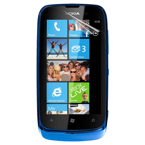 Skque Clear Screen Protector for Nokia Lumia 610