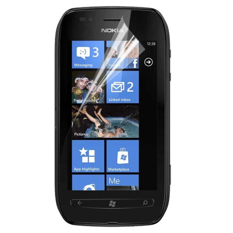 Skque Clear Screen Protector for Nokia Lumia 710