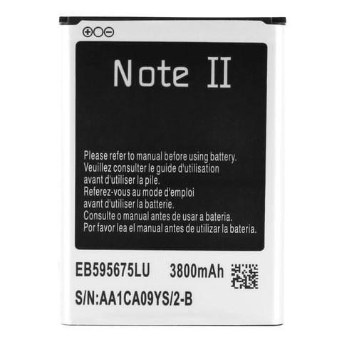 Skque? Replacement 3800mAh Li-ion Battery for Samsung Galaxy Note II N7100