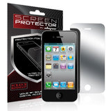 Skque 5 Pcs Mirror Screen Protector for Apple iPhone 4/4S