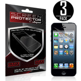 iPhone 5 Screen protector,Skque®Anti Glare Screen Protector for Apple iPhone 5 [3 PACK]