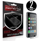 Skque® 2PCs Screen Protector for Apple® iPhone® 3G Series [Electronics]