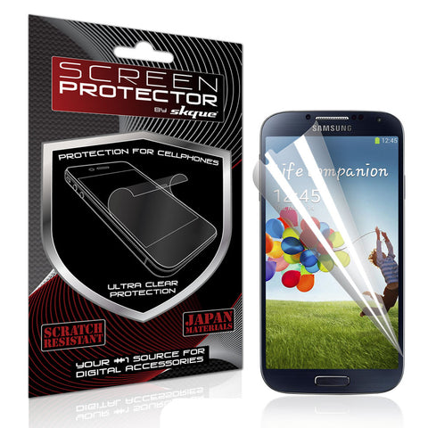 Galaxy S4 Screen Protector,Skque® Anti Scratch Mirror LCD Screen Protector Cover Guards for Samsung Galaxy S4 I9500