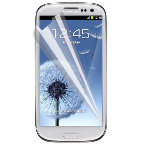 Galaxy S3 Screen Protector,Skque® Anti Scratch Mirror LCD Screen Protector Cover Guards for Samsung Galaxy S3 I9300