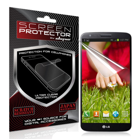 Skque® Anti Scratch Screen Protector for LG G2