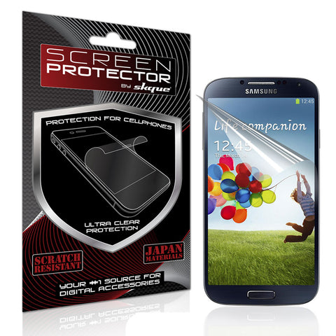 Galaxy S4 Screen Protector,Skque® Anti Glare Screen Protector for Samsung Galaxy S4 I9500